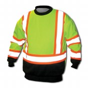 EXTREMEDWS Double Weight High Visibility Sweatshirt