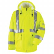 JXN4 Hi-Visibility Flame-Resistant Rain Jacket