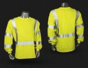 LHV-FR-TS-LS-C3 FR Class 3 Long Sleeve Safety T-Shirt
