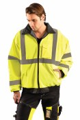 LUX-ETJBJ High Visibility Value Bomber Jacket