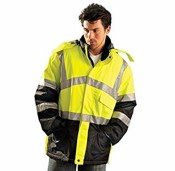 LUX-TJCW High Visibility Insulated Cold Weather Parka