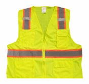 MWHVSV-47 HV TWO-TONE SAFETY VEST