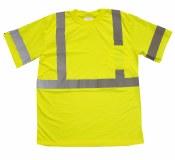 RMT001S Hi vis Class 3 Safety T-Shirt