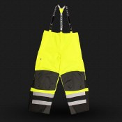 RW32-EZ1 HD Ripstop Waterproof Bib Rain Pants