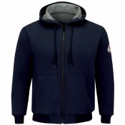 SEZ4 FR Full Zip-Front Hooded Waffle-Lined Sweatshirt
