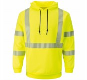 SMH4HV Hi-Vis Pullover Hooded Fleece Sweatshirt