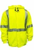 C21HC05C3 Hooded/Zipper Hi-Vis Sweatshirt