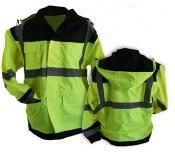 Extreme LJ Hi-Vis Lightweight Rain Jacket