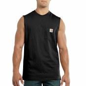 100374 Workwear Pocket Sleeveless T-Shirt