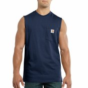 100374 Workwear Pocket Sleeveless T-Shirt