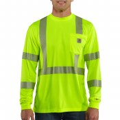 100496 Force High-Visibility Long-Sleeve Class 3 T-Shirt