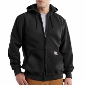 100614 Rain Defender Paxton Heavyweight Hooded Zip Front Sweatshirt