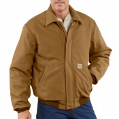 101623 Flame Resistant Quilt-Lined Bomber Jacket