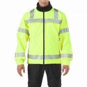48171 High Visibility Reversible Softshell Jacket