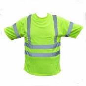 9051C3 Hi-Vis Class 3 Short Sleeve Safety Shirt