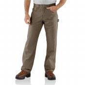 B159 Loose Fit Canvas Carpenter Jeans