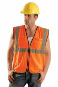 ECO-GCS High Visibility Value Mesh Surveyor Vest