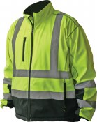 FOR548P High Visibility Premium Softshell Jacket