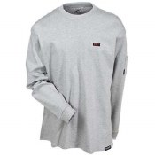 FTL6-GRY Flame Resistant Cotton T-Shirt