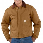 J002 Duck Traditional Arctic Quilt Lined Jacket
