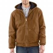 J130 Quilted-Flannel-Lined Sandstone Active Jacket
