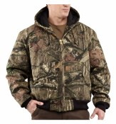 J221 Quilted Flannel-Lined WorkCamo Active Jac