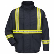 JLJCNV Flame Resistant Jacket with CSA Reflective Trim