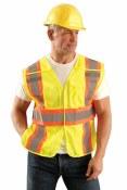 LUX-SC2TB High Visibility Classic Mesh Expandable Vest