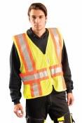LUX-SC2TZ High Visibility Premium Mesh Expandable Vest