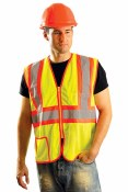 LUX-SSCLC2Z High Visibility Classic Mesh Vest