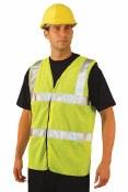 LUX-SSCOOLG High Visibility Premium Mesh Vest