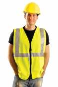 LUX-SSGZ High Visibility Premium Solid Standard Vest