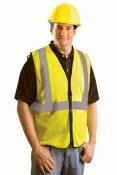 LUX-SSGZC High Visibility Premium Mesh Vest