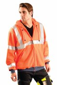 LUX-SWT3HZ High Visibility Premium Wicking Hoodie