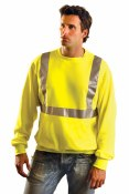 LUX-SWTL High Visibility Classic Lightweight Crew Sweatshirt