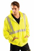 LUX-SWTLHZ High Visibility Classic Lightweight Hoodie