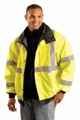 LUX-TJBJ High Visibility Premium Four-Way Original Bomber Jacket
