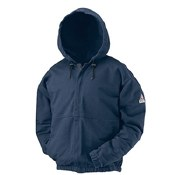 SEH4 Flame Resistant Zip-Front Hooded Sweatshirt