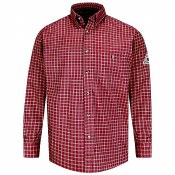 SLG8 Flame Resistant Plaid Dress Shirt