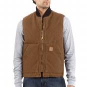 V02 Sandstone Arctic Quilt Lined Vest