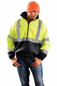 LUX-ETJBJR High Visibility Three-Way Bomber Jacket
