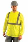 LUX-LSET2B High Visibility Wicking Birdseye Shirt