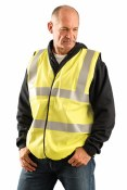 LUX-SSCFGFR Classic Flame Resistant Dual Stripe Solid Vest