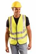 LUX-SSFG/FR Premium Flame Resistant Dual Stripe Solid Vest