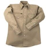 INKWS Flame Resistant Western Heavy Weight Welding Shirt