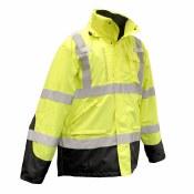 SJ410B 3-in-1 Waterproof Parka with Removable Fleece Jacket