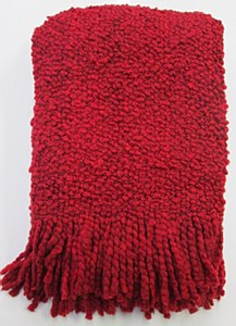 Camelot Throw, RED