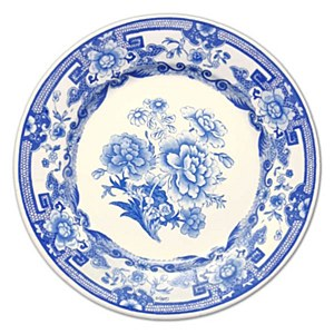 Blue & White Plate Placemat, E