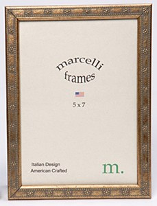 8x10 Marcelli Thin Gold Daisy