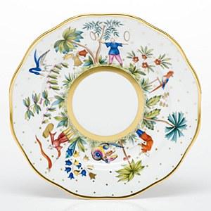 Asian Garden Bold, D/ Plate